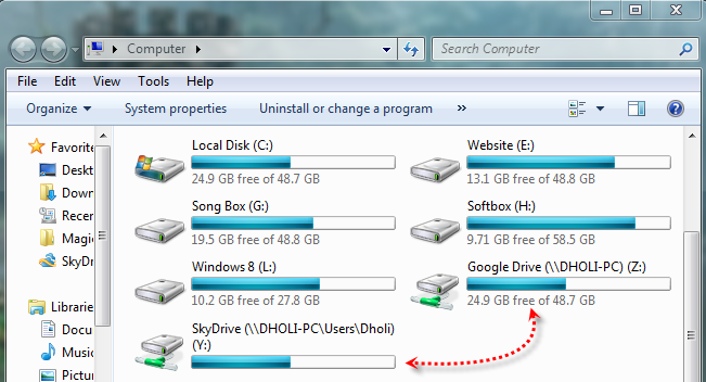 Convert Dynamic Disk to Basic Disk Using CMD