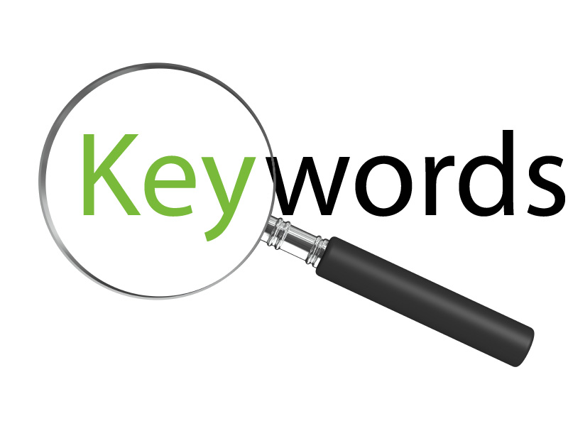 Choose optimized Keywords for your website