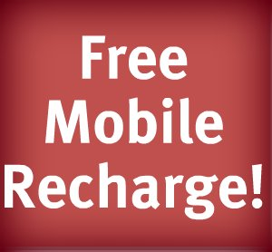 HOW TO GET FREE RECHARGE EASILY