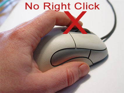 HOW TO DISABLE THE RIGHT CLICK BUTTON ON YOUR WEBSITE
