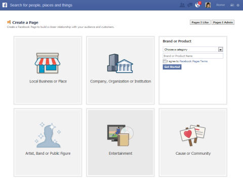 Create facebook page and grow your business