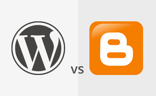 Difference between WordPress and Blogger