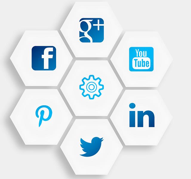 Design your website with Social Media Integration